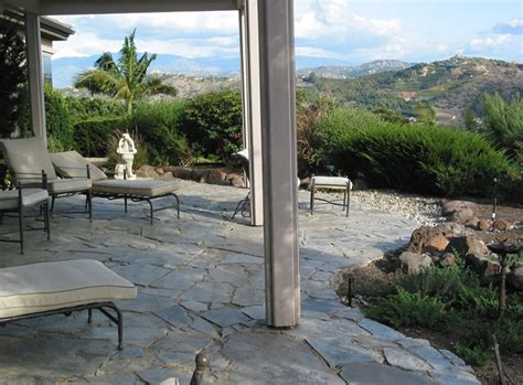 new digs back patio facing mountains san diego county