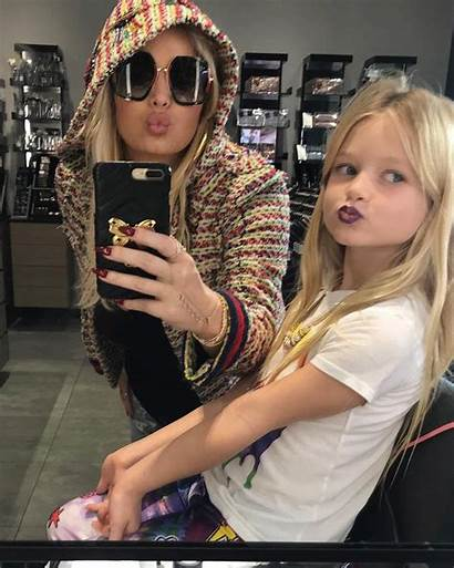 Simpson Jessica Makeup Daughter Maxwell Instagram Young