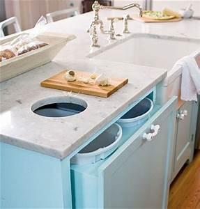 Poubelle Plan De Travail : 750 best kitchen design images on pinterest kitchen ~ Dailycaller-alerts.com Idées de Décoration