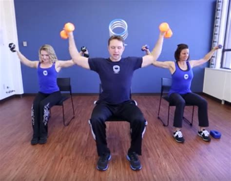 video chair exercises  beginners diabetes daily