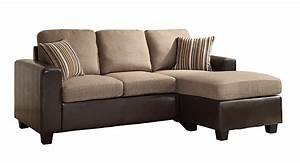 Homelegance 8401 3sc reversible sofa chaise home for Homelegance 2 piece sectional sofa