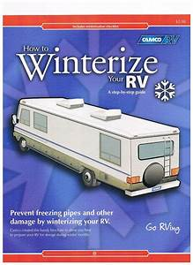 1983 Fleetwood Pace Arrow Owners Manuals  How To Winterize
