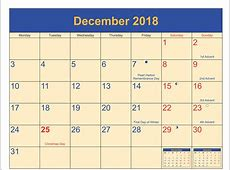 December 2018 Full Moon Calendar Free [Download] Free