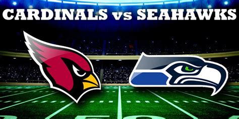 cardinals  seahawks preview  prediction