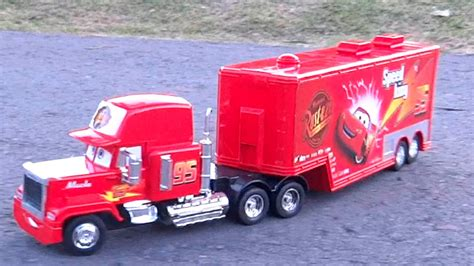 Camion Mack Cars Camion Mack Truck Cars Remoto Rc Rayo Mcqueen Tractomula Trailer Disney
