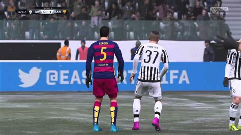 Juventus against FC Barcelona - YouTube