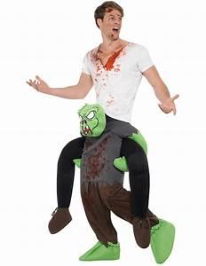 Kostüm Auf Rechnung : kost m auf dem r cken eines zombie kost me f r erwachsene und g nstige faschingskost me vegaoo ~ Themetempest.com Abrechnung