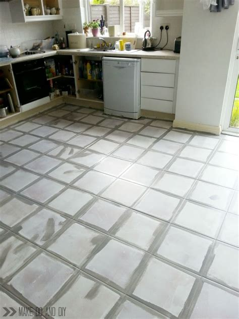 Alte Fliesen Bemalen by How To Paint A Tile Floor And What You Should Think About