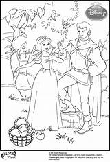 Snow Coloring Pages Prince Princess Disney Colouring Sheets Printable Books Dwarfs Discover Printables Teamcolors Popular sketch template
