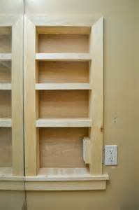 bathroom built in storage ideas remodelaholic 25 brilliant in wall storage ideas for every room in your home