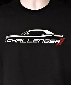 Dodge Challenger Silhouette Hash Marks RT SRT Hellcat ...