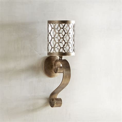 Small Wall Sconces by Quatrefoil Scroll Small Candle Wall Sconce Products
