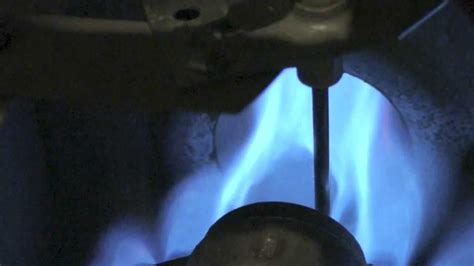 gas furnace flame rod work youtube