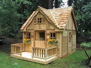 playhouse plans with loft Playhouse Parade: Building