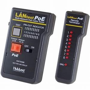 Lantest Rj45 Network Cable  U0026 Poe Tester