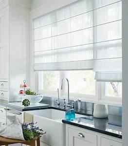 How to create modern window decor 20 window dressing ideas for Modern kitchen window coverings