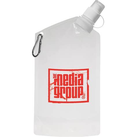 promotional foldable water pouches promotion products