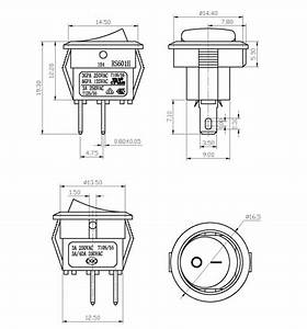 Wholesale 2 Pin Wiring Diagram On Off Rocker Switch 2 Pin
