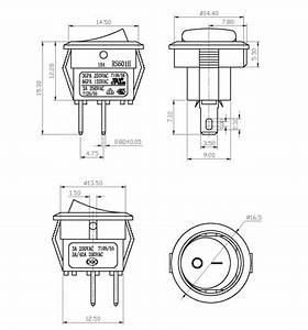 Wholesale 2 Pin Wiring Diagram On Off Rocker Switch 2 Pin
