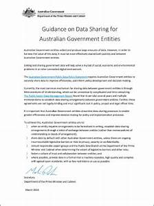 guidance on data sharing for australian government With australian government documents