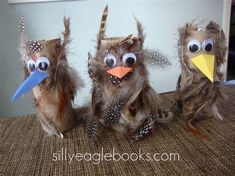 cardboard tube owls fun family crafts