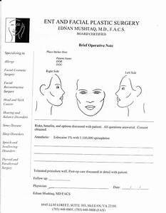 Face Diagram