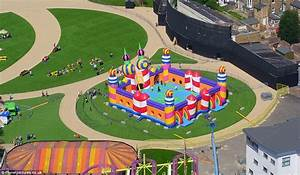World's biggest bouncy castle opens in Margate's Dreamland ...