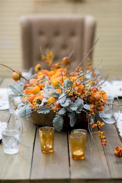 Herbstdeko Für Gartentisch by Bezaubernde Tischdeko Im Herbst F 252 R Besondere Anl 228 Sse
