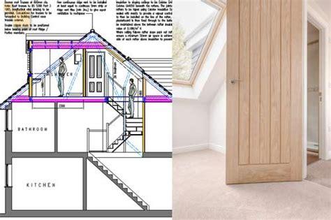 Dormer Construction Plans by Roof Dormers Construction A Hip To Gable Brick Loft
