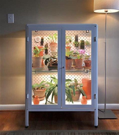 ikea fabrikor cabinet greenhouse diy hunker
