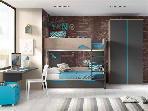 lit avec bureau lit superposé avec bureau pour 2 enfants glicerio so nuit