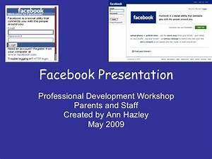 facebook presentation With samsung presentation template