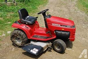 Honda 4514 Lawn Tractor Repair Manual