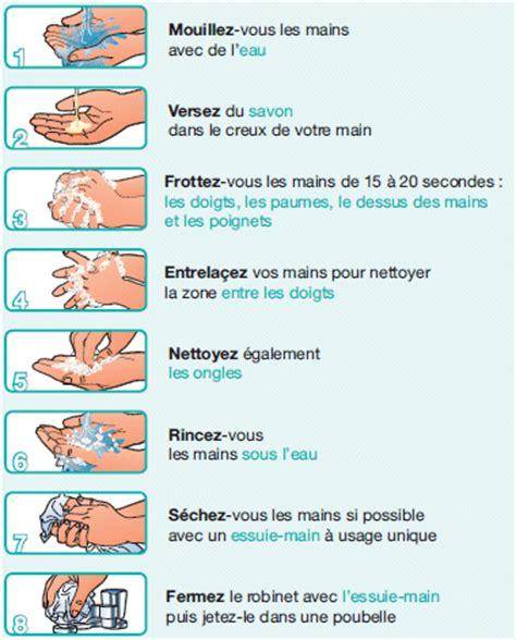 protocole de nettoyage d une cuisine le lavage des mains