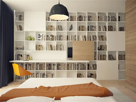 Bookcase In Bedroom by Inspiring Design Ideas Of Bedrooms Bookshelves For
