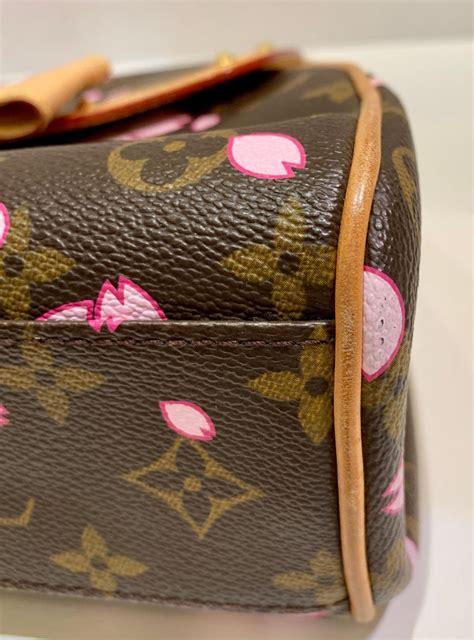 louis vuitton takashi murakami limited edition retro cherry blossom purse  stdibs