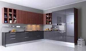 cuisine en l urbantrottcom With idee de plan de maison 8 couleur cuisine photo de vues 3d de la cuisine la