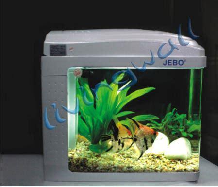 jebo aquarium kit nano qr128 silver capacity 12 liters