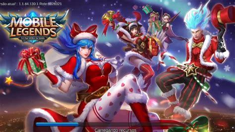 Mobile Legends Atualização De Natal