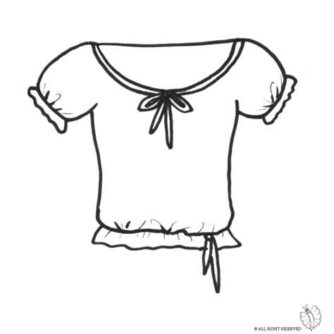 immagini da stare su magliette disegno di maglietta con fiocchi da colorare per bambini