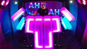 DRUMMER CREATES VISUAL WAY TO DJ - AFISHAL - YouTube  Dj