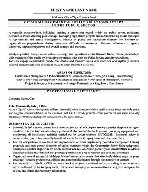 relations professional resume template premium