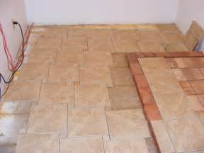 Tile Floor Layout by Floor Tile Patterns Casual Cottage