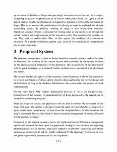 management analysis sample sample budget calendar With pharmacy management system project documentation pdf