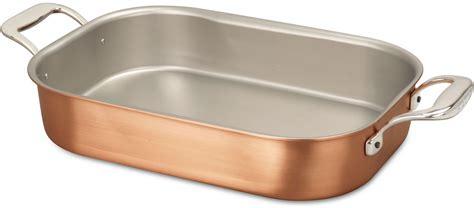 roasting pan cm  cm roasting tray falk signature series falk copper cookware