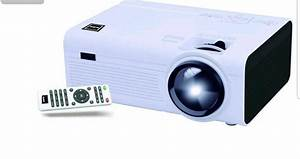 Rca Home Theater Led Projector 1080p Compatible 2200