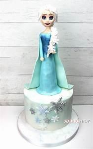 Gateaux La Reine Des Neiges : gateau reine des neiges elsa tuto ~ Dallasstarsshop.com Idées de Décoration