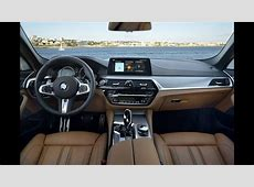 BMW G30 540i Sedan M Package Interior Design YouTube