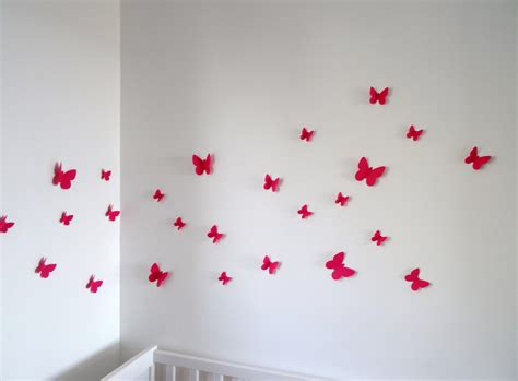 decoration chambre fille papillon paihhi