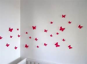 Décoration Murale Chambre Fille : deco chambre bebe 3d ~ Teatrodelosmanantiales.com Idées de Décoration